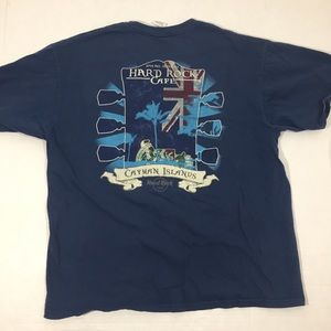 Men's Hard Rock Cafe Cayman Islands T Shirt XL